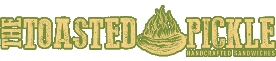 The Toasted Pickle Logo
